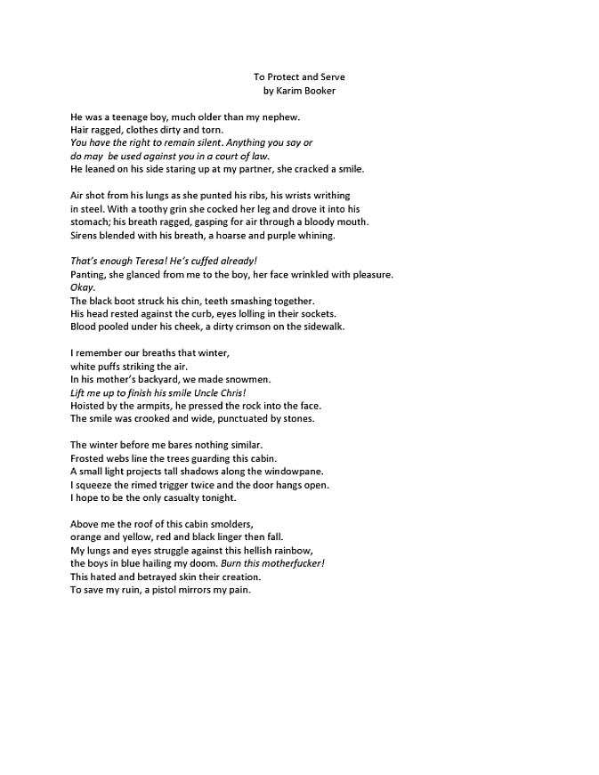 to-protect-and-serve-poem